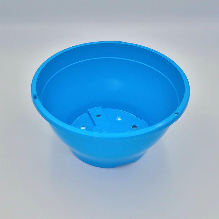 Vaso plastico - cuia 10 X 21 - azul