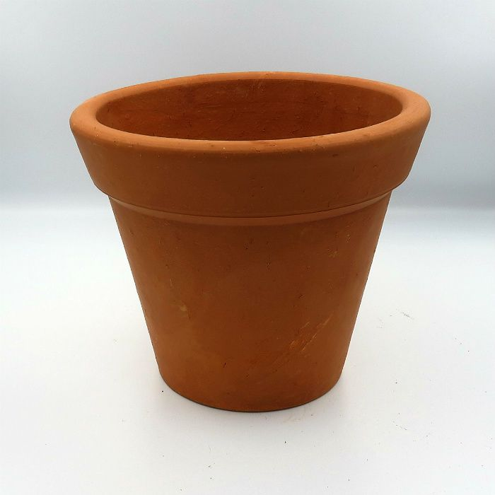 Vaso de barro - comum - 22 x 18 cm