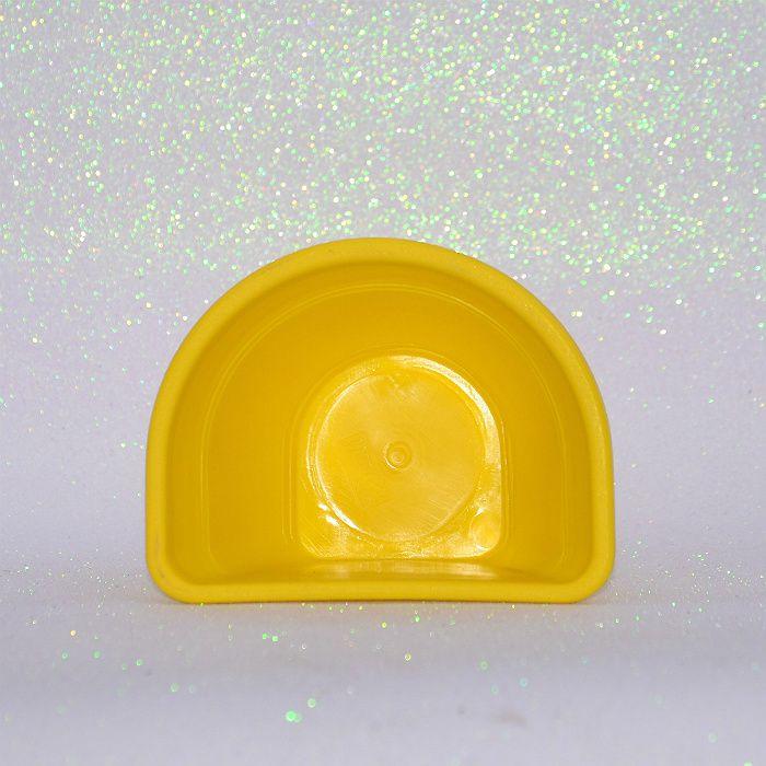 Vaso de parede - amarelo - 11 x 15 cm - Kit 24 un