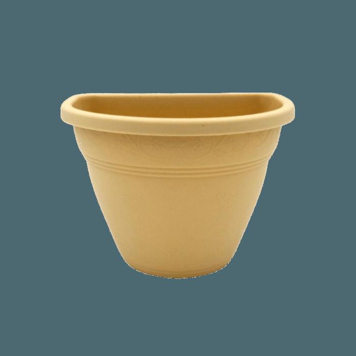 Vaso de parede - areia - 11 x 15 cm