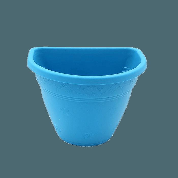 Vaso de parede - azul - 11 x 15 cm
