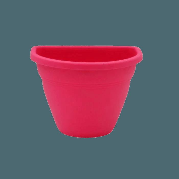 Vaso de parede - rosa - 11 x 15 cm - Kit 24 un