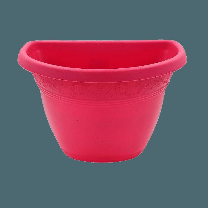Vaso de parede - rosa - 17 x 23 cm