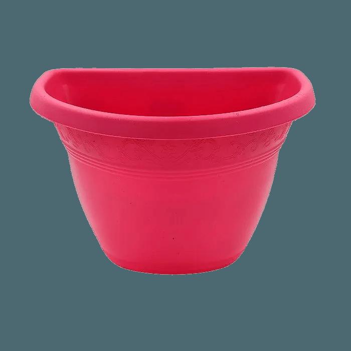 Vaso de parede - rosa - 17 x 23 cm - Kit 10 un