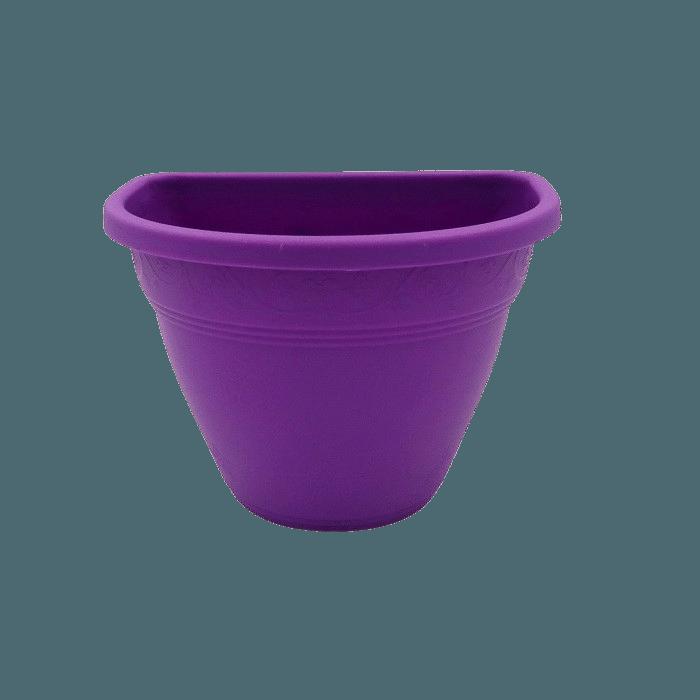 Vaso de parede - roxo - 11 x 15 cm