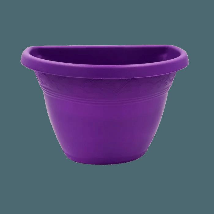 Vaso de parede - roxo - 17 x 23 cm - Kit 10 unid