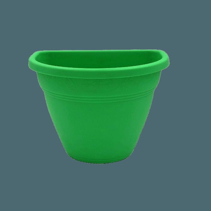 Vaso de parede - verde - 11 x 15 cm