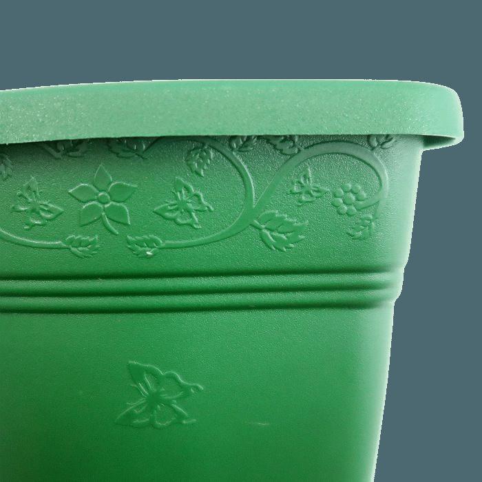 Vaso de parede - verde escuro - 11 x 15 cm