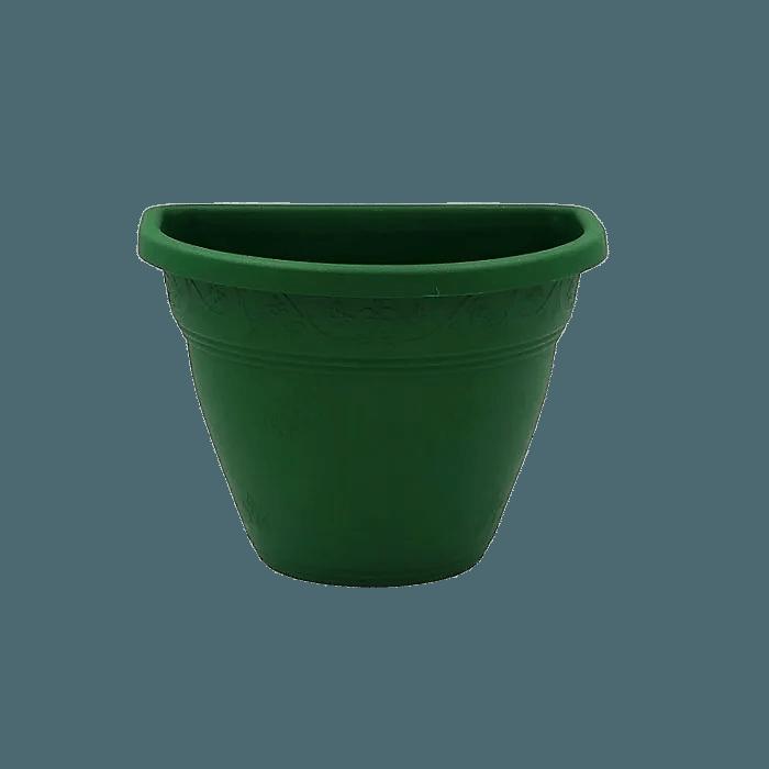 Vaso de parede - verde escuro - 11 x 15 cm - Kit 10 un