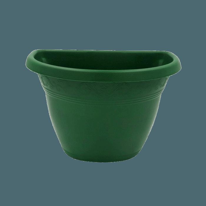 Vaso de parede - verde escuro - 17 x 23 cm
