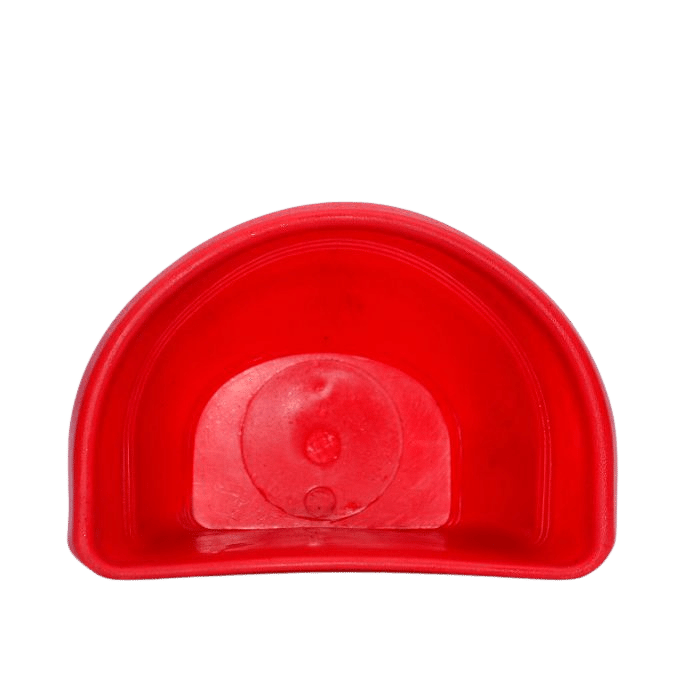 Vaso de parede - vermelho - 17 x 23 cm