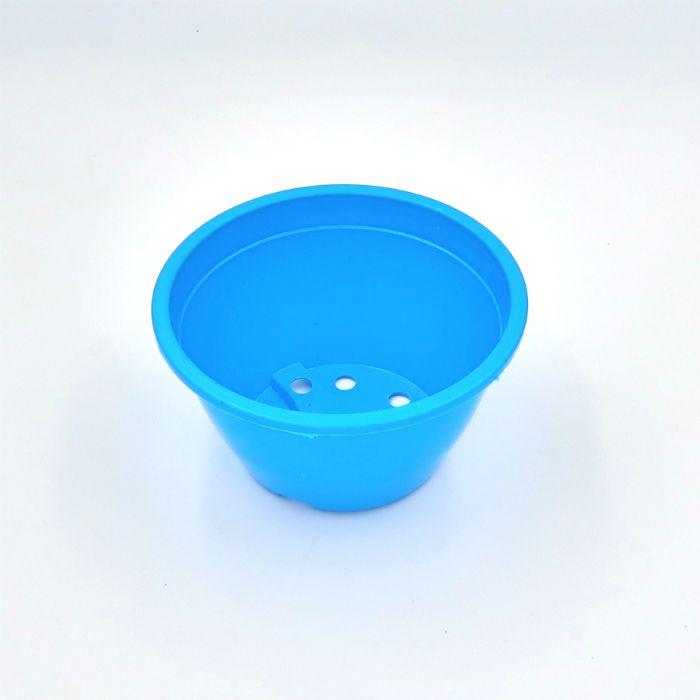 Vaso plastico - cuia 07 x 13 - azul