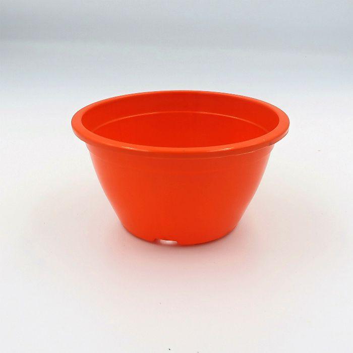 Vaso plastico - cuia 07 x 13 - laranja