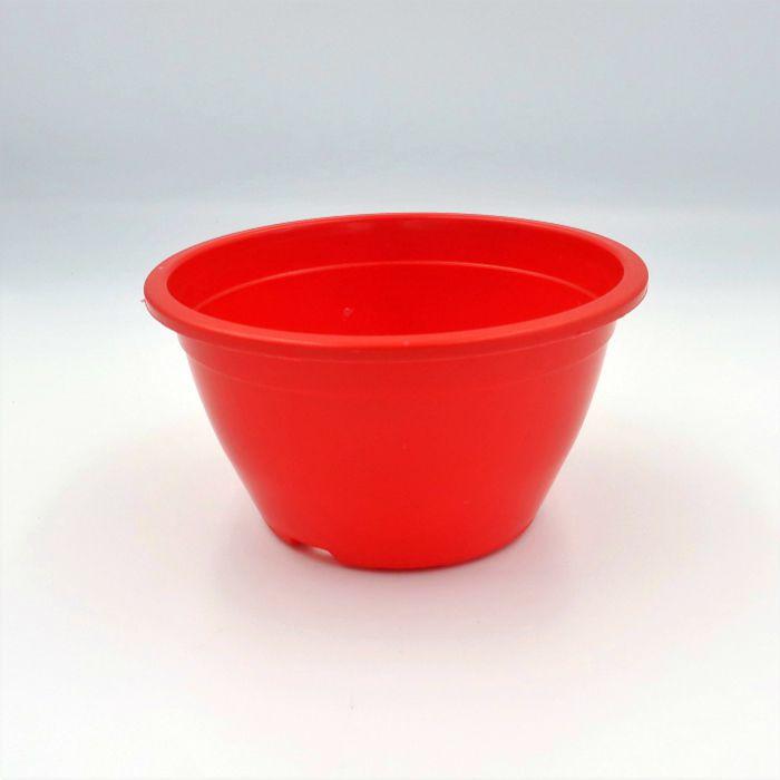 Vaso plastico - cuia 07 x 13 - vermelho - kit 30 un