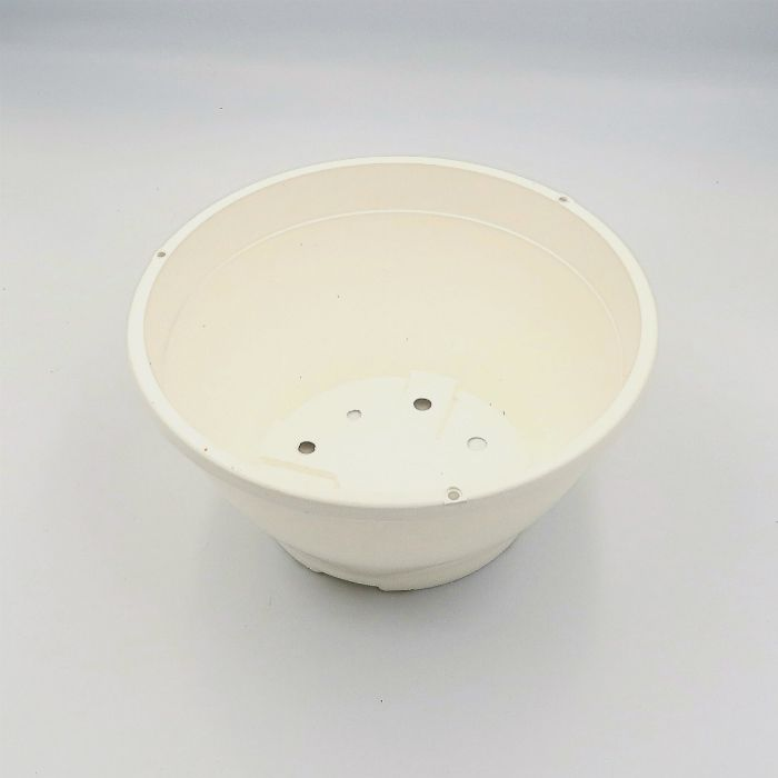 Vaso plastico - cuia 10 X 21 - branco