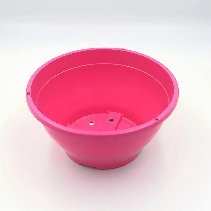 Vaso plastico - cuia 10 X 21 - rosa - kit 05 un