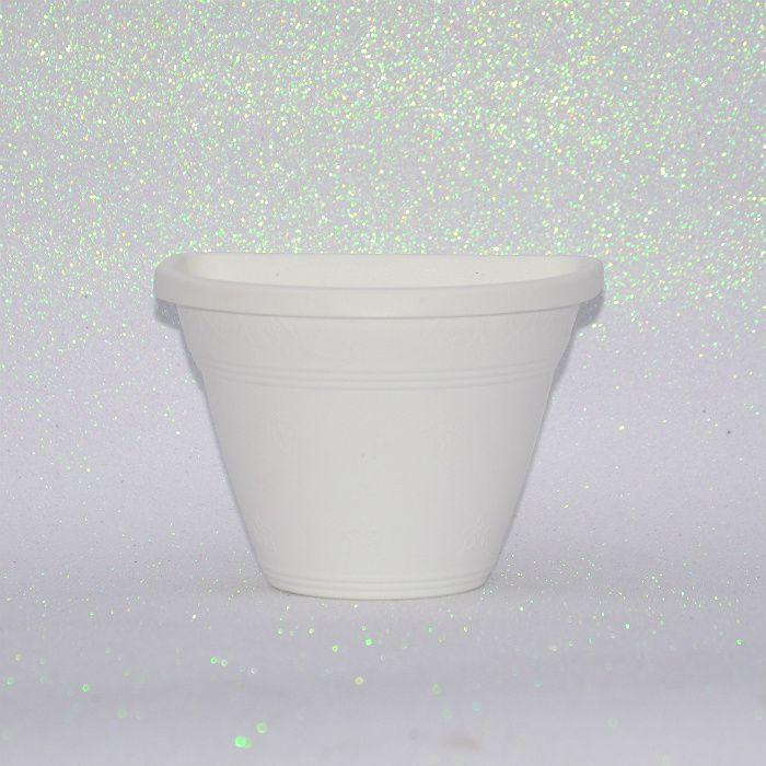Vaso de parede - branco - 15 cm