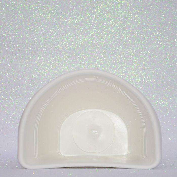 Vaso plástico de parede - vicenza - branco - 23 cm