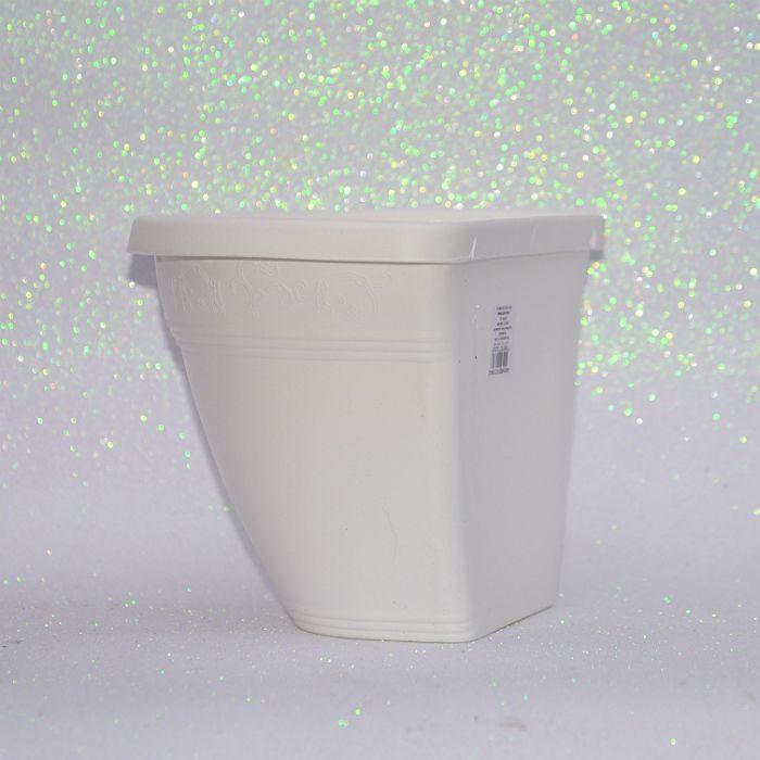Vaso de parede - branco - 17 x 23 cm