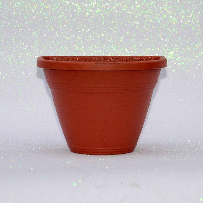 Vaso plástico de parede - vicenza - ceramica - 15 cm