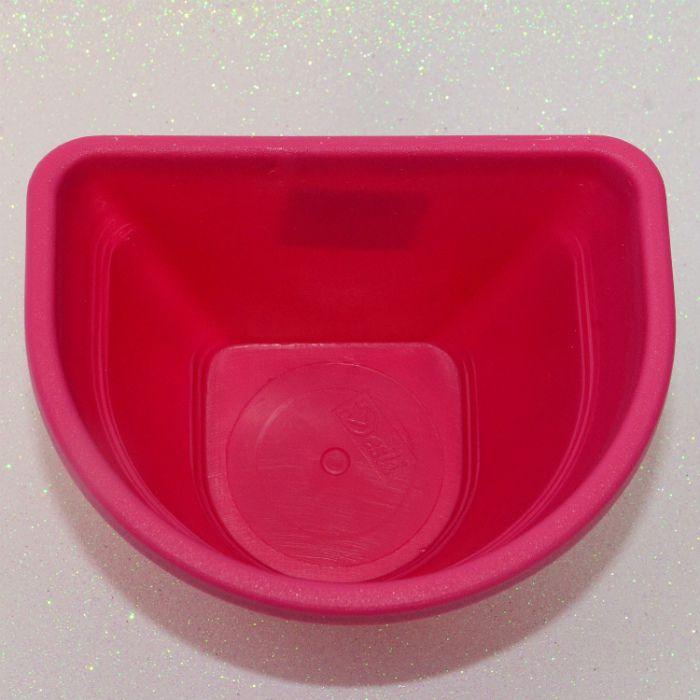 Vaso de parede - rosa - 15 cm - Kit 24 un + brinde