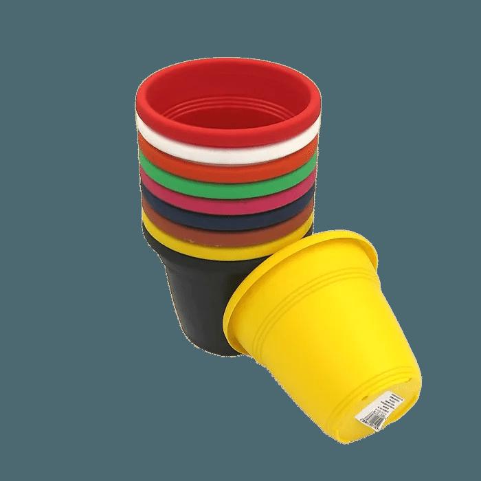 Vaso plástico - kit colorido - 10 x 13 cm - 100 unidades