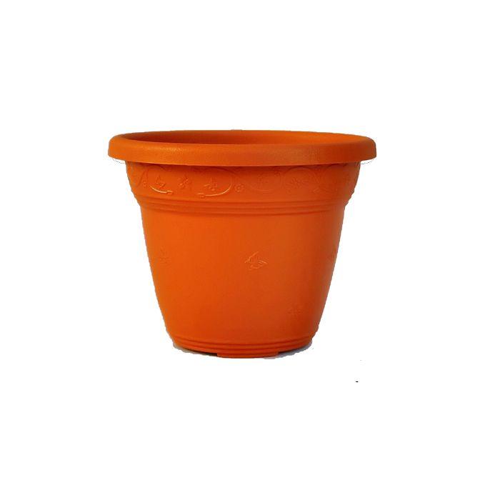 Vaso plástico - laranja 10 cm - Kit 24 un + brinde
