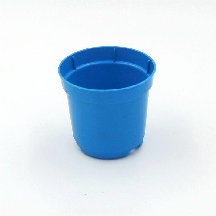 Vaso plastico - pote 06 - azul - kit 150 un