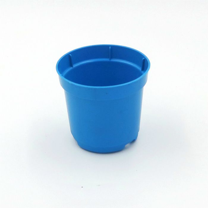 Vaso plastico - pote 06 - azul - kit 36 un