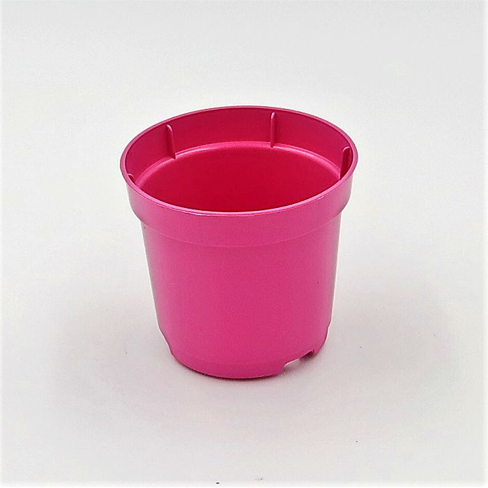 Vaso plastico - pote 06 - rosa