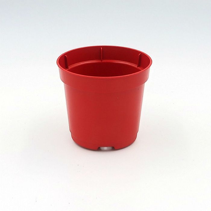 Vaso plastico - pote 06 - vermelho - kit 36 un