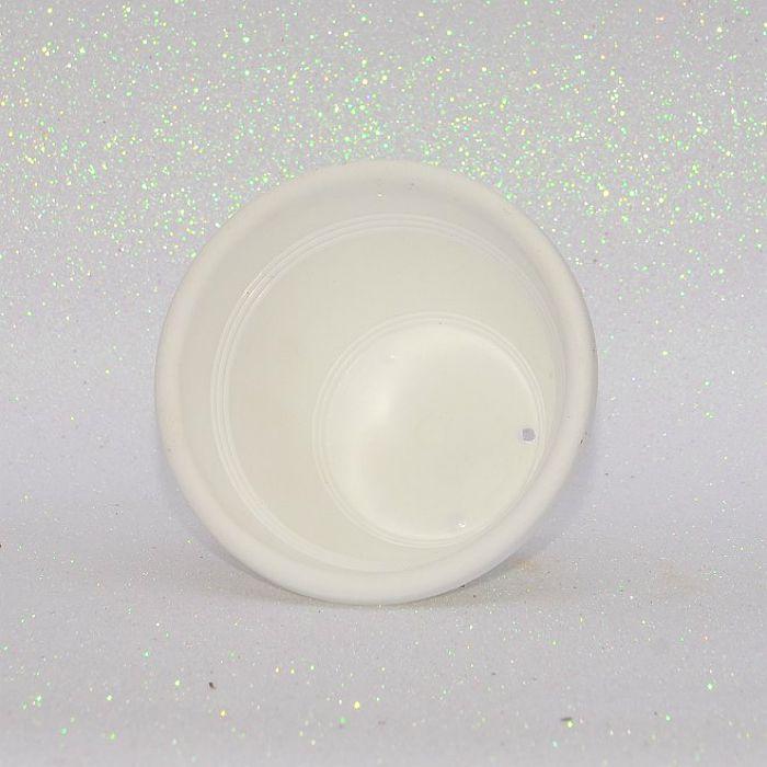 Vaso plástico  - vicenza - branco - 10 cm - kit 10 un