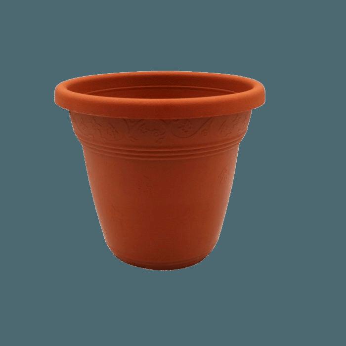Vaso plástico - vicenza - cerâmica - 08 x 10 cm