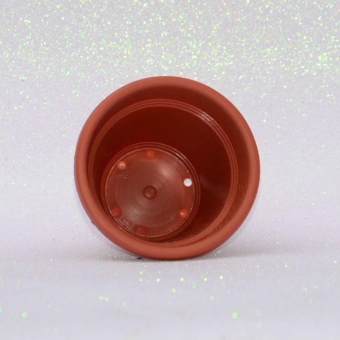 Vaso plástico - vicenza - cerâmica - 10 cm