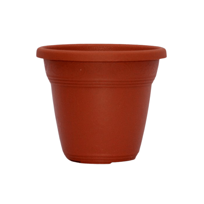 Vaso plástico - vicenza - ceramica - 10 x 13 cm - Kit 22 unid