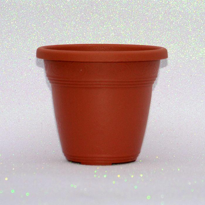 Vaso plástico - vicenza - ceramica - 13 cm