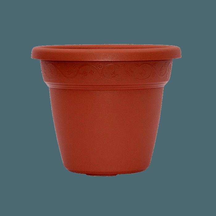 Vaso plastico - vicenza - cerâmica - 16 x 19 cm