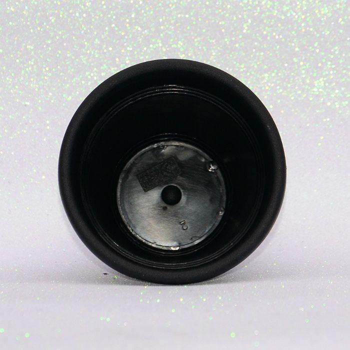 Vaso plástico - vicenza - preto - 13 cm - Kit 10 un
