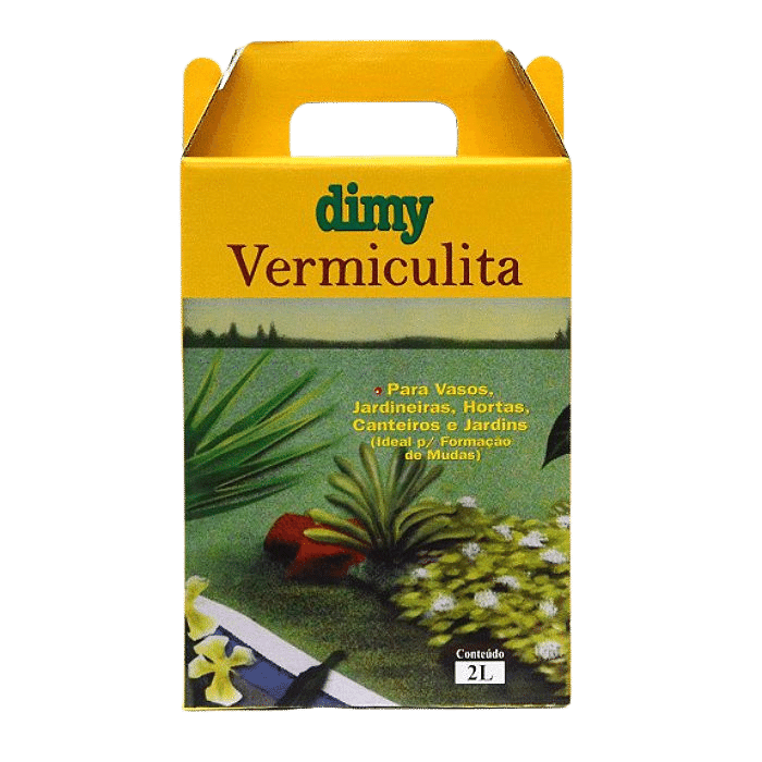 Vermiculita - 2 litros - Dimy