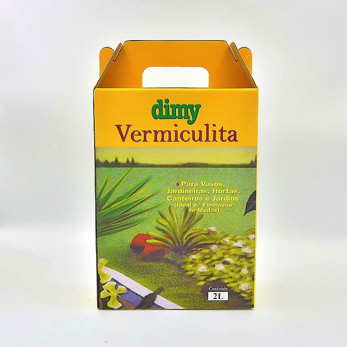 Vermiculita - Dimy - kit 2 embalagens 2 litros