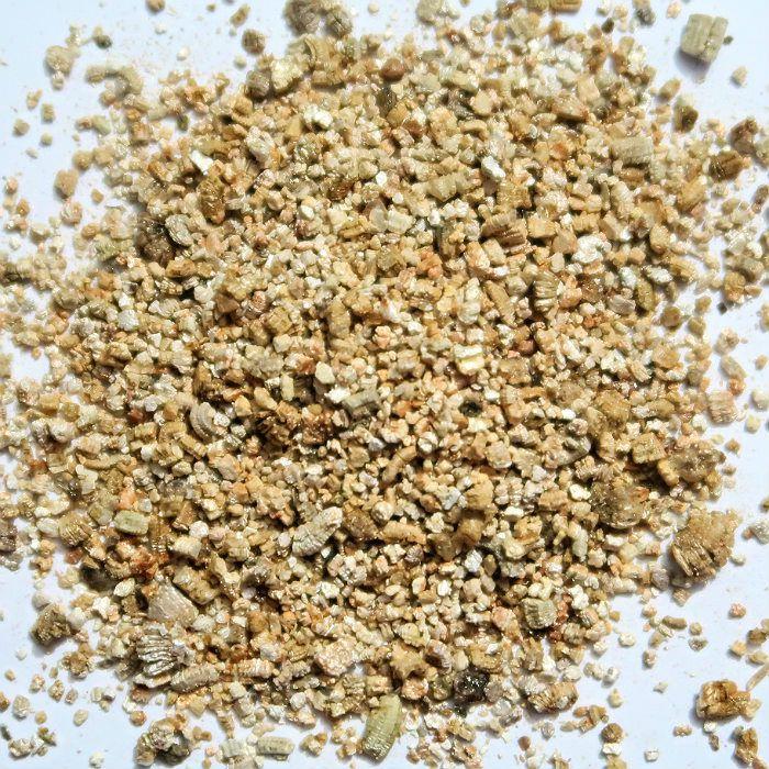 Vermiculita média - 6 kg - produto fracionado