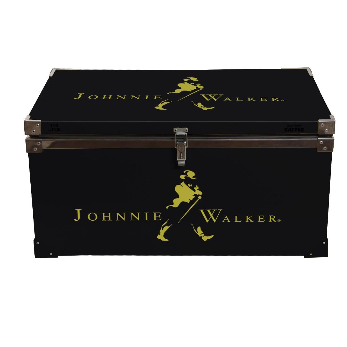 Caixa Térmica 110 Litros Johnnie Walker