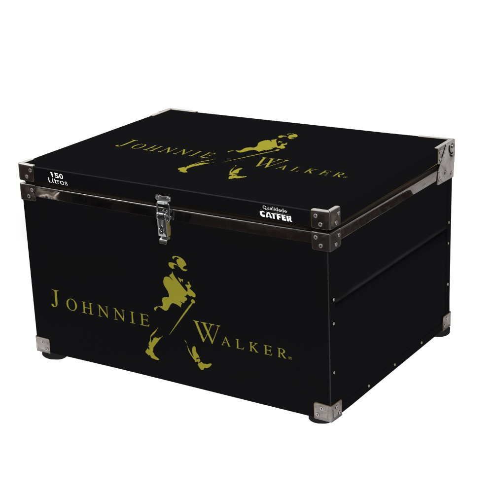 Caixa Térmica 150 Litros Johnnie Walker