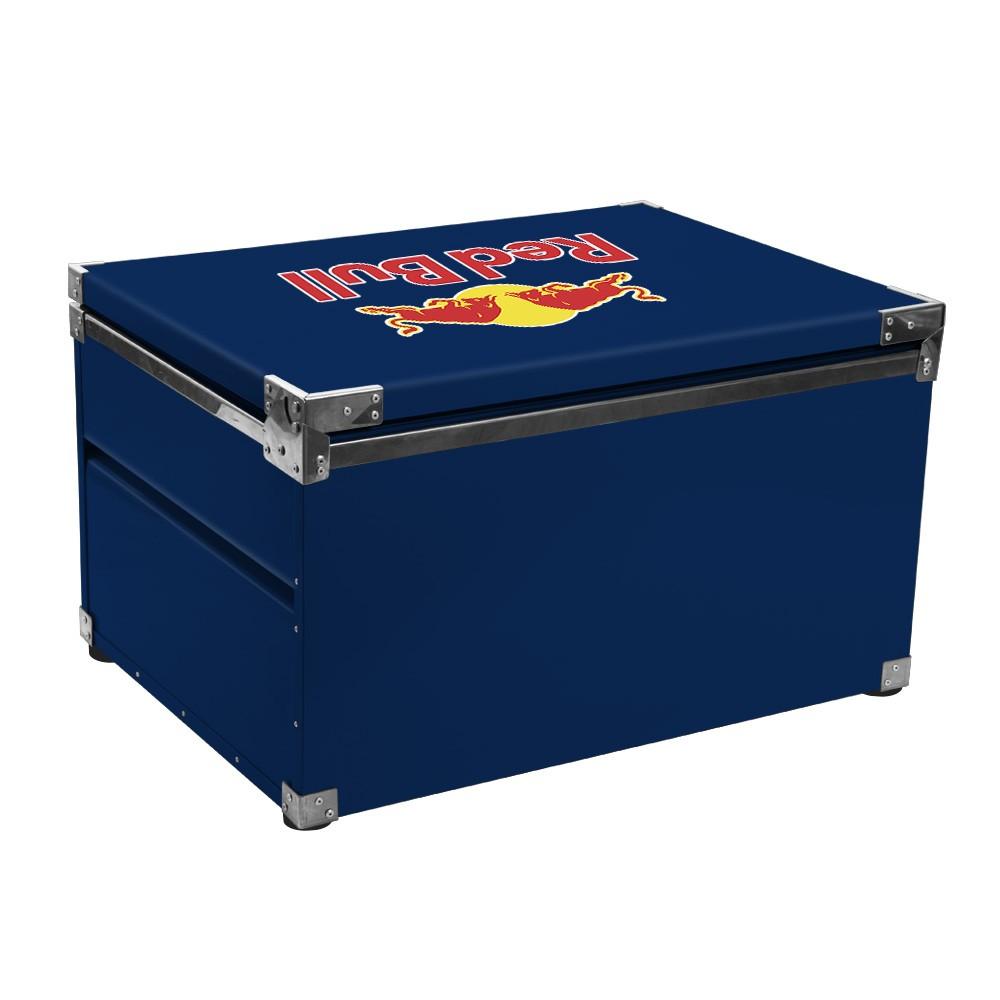 Caixa Térmica 150 Litros Red Bull