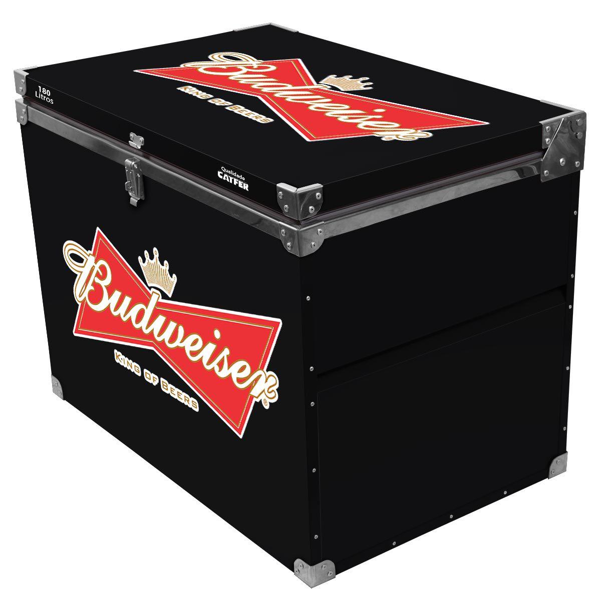Caixa Térmica 180 Litros Budweiser