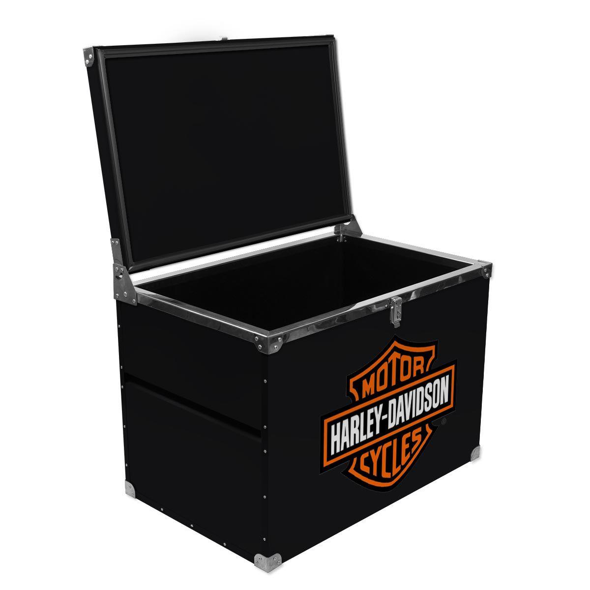 Caixa Térmica 180 Litros Harley Davidson