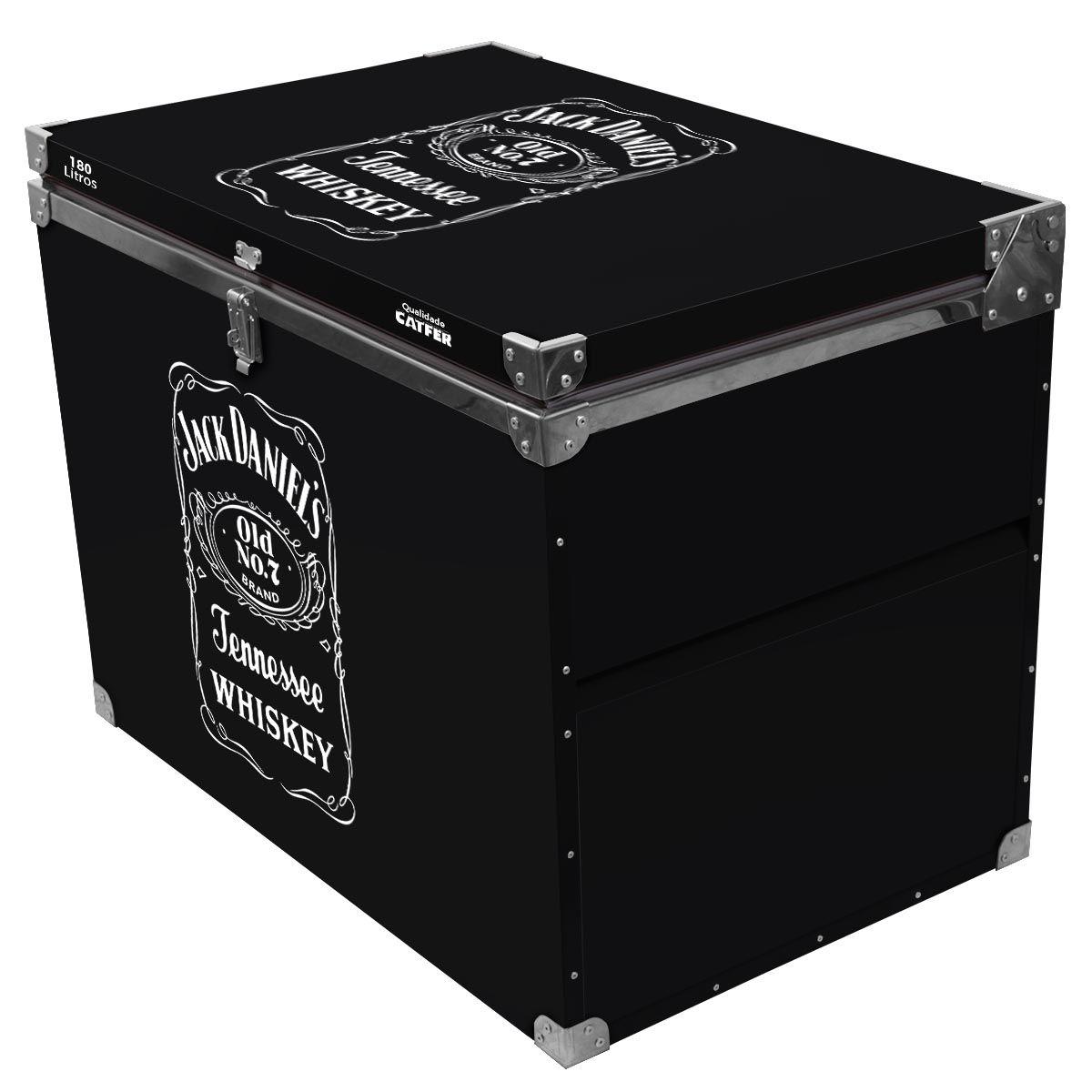 Caixa Térmica 180 Litros Jack Daniel's