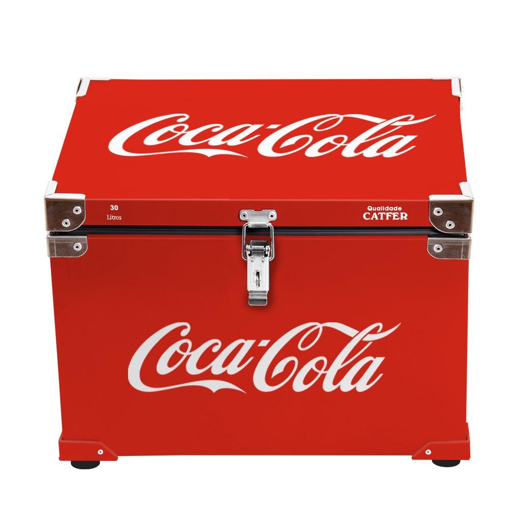 Caixa Térmica 30 Litros Coca Cola