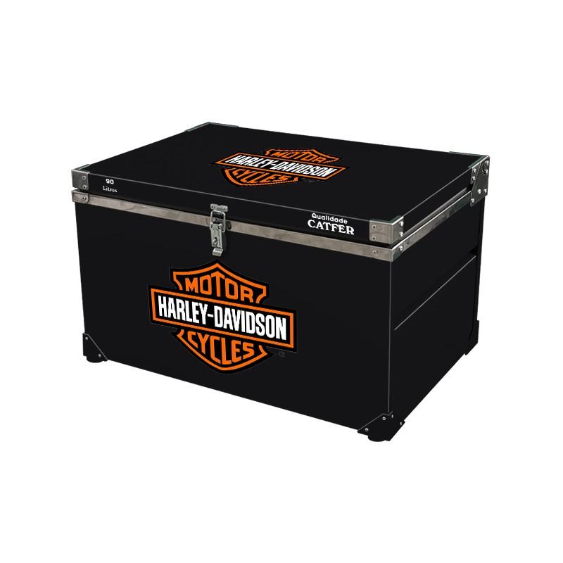 Caixa Térmica 90 Litros Harley Davidson