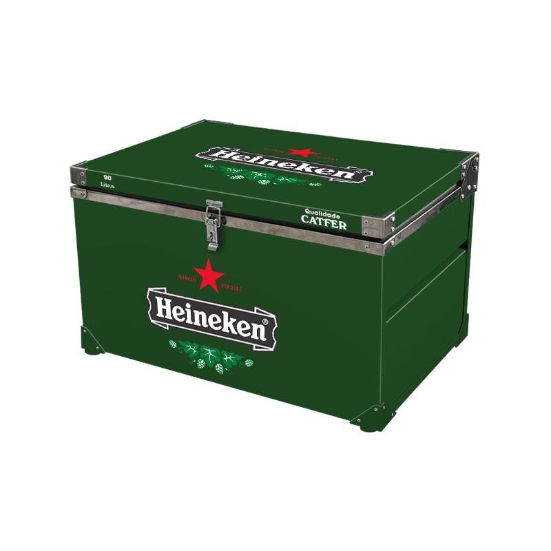 Caixa Térmica 90 Litros Heineken